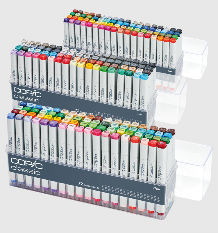 Copic 72pcs Sets