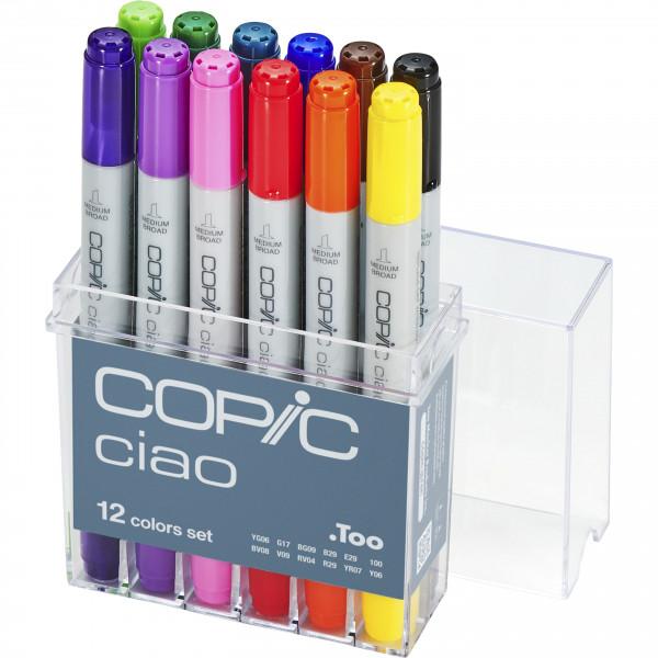 Copic Ciao 12 Colour set