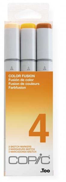 Copic Sketch Color Fusion set 4