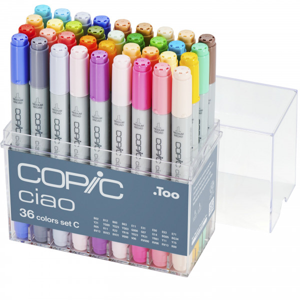 Copic Ciao 36 Colour set C