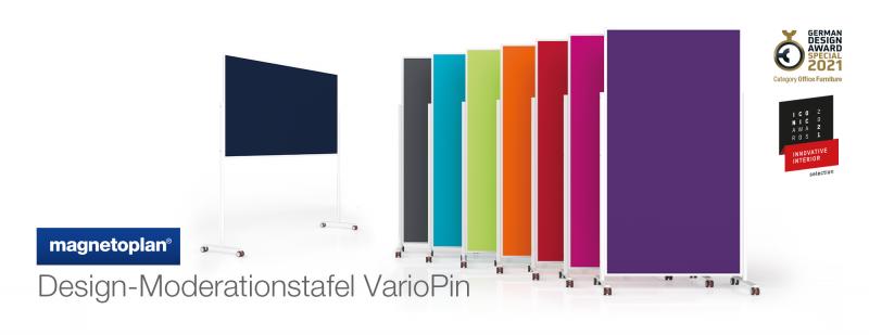 Design-Moderationstafel VarioPin