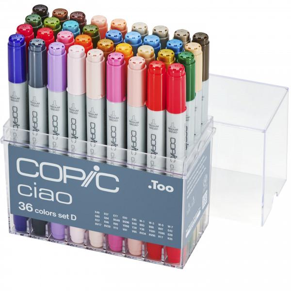 Copic Ciao 36 Colour set D