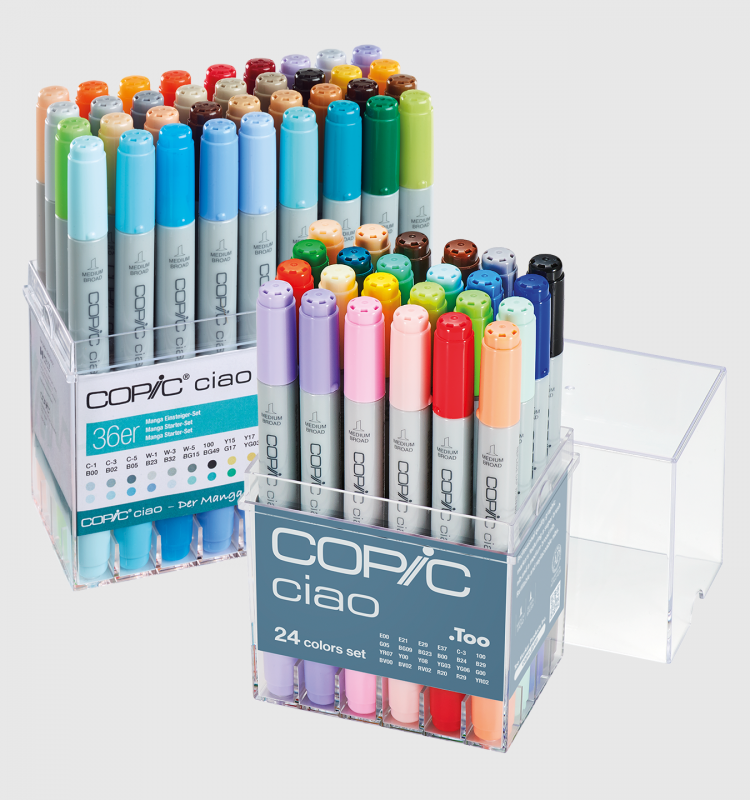 Copic 20pcs + 24pcs Sets