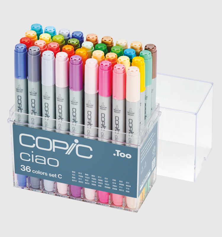 Copic 36pcs Sets