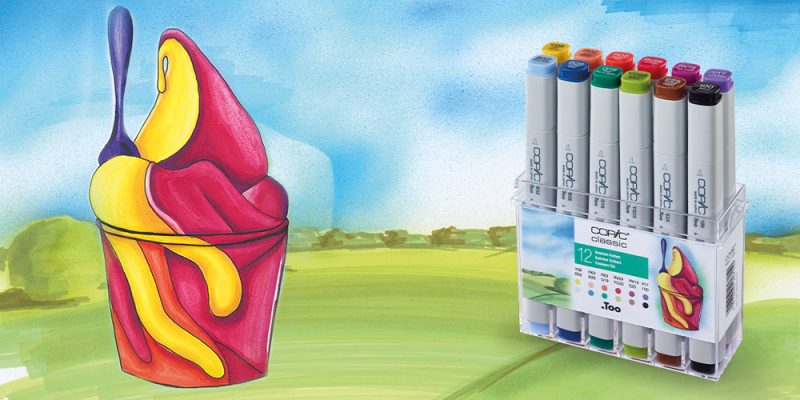 COPIC Set Sommer