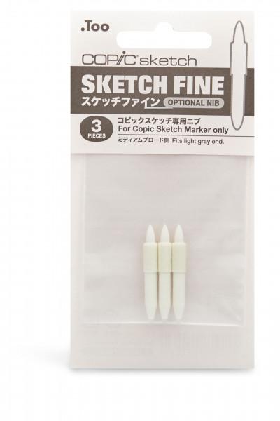 Copic Sketch Fine Nib 3pcs