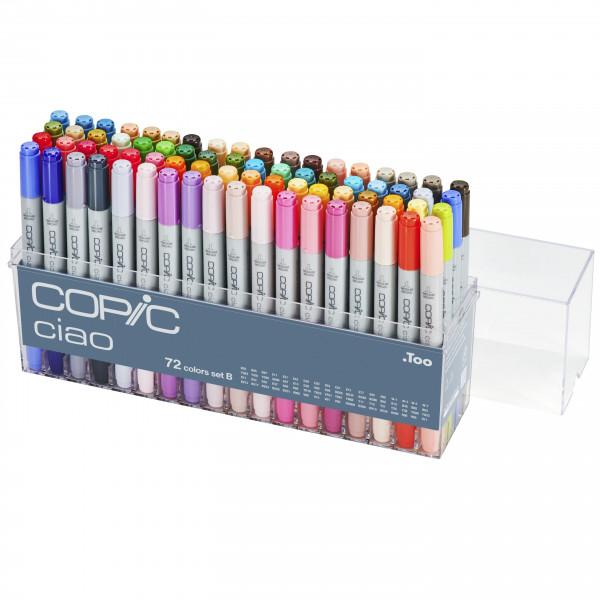 Copic Ciao 72 Colour set B