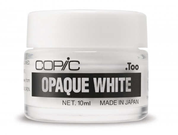 COPIC OPAQUE WHITE im Tigel, 10 ml