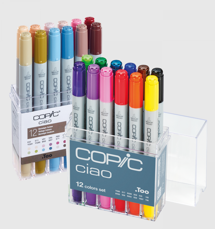 Copic 12pcs Sets
