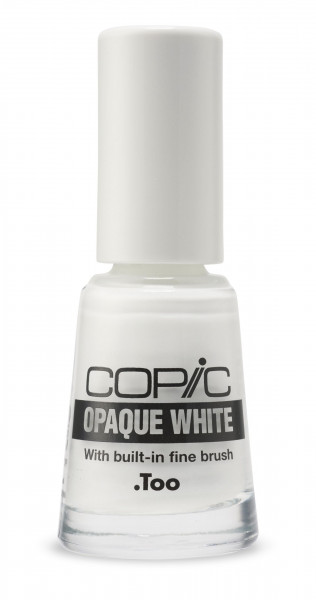 Copic Opaque White with fine brush 6ml