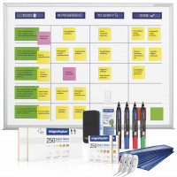 Scrumboard wall mounting, XL set (ink. Accessories)