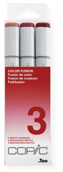 COPIC Sketch Color Fusion set 3