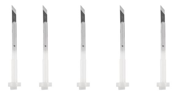 Spare blades, 5 pcs