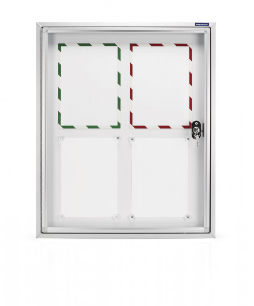 Showcase CC for the outside, with safety glass