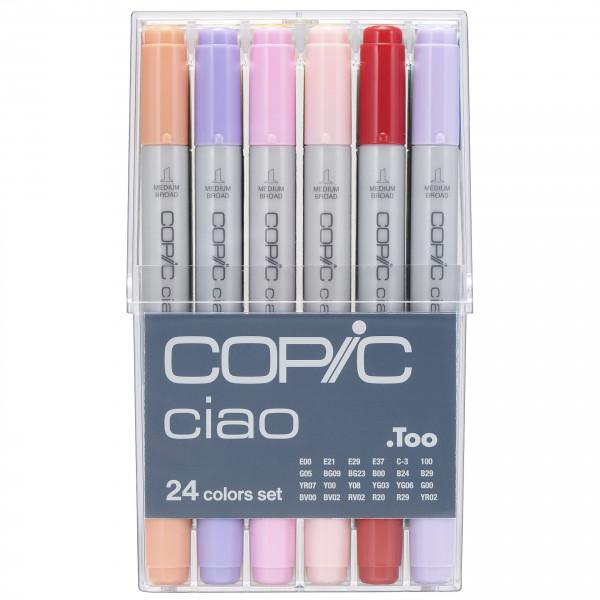 Copic Ciao 24 Colour set