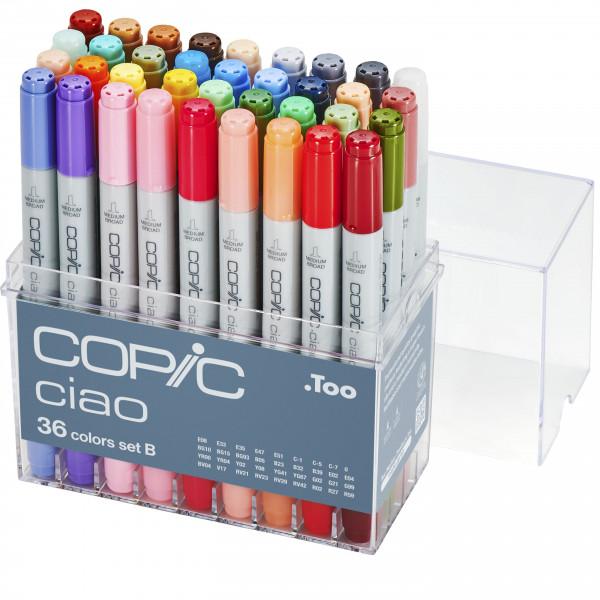 Copic Ciao 36 Colour set B