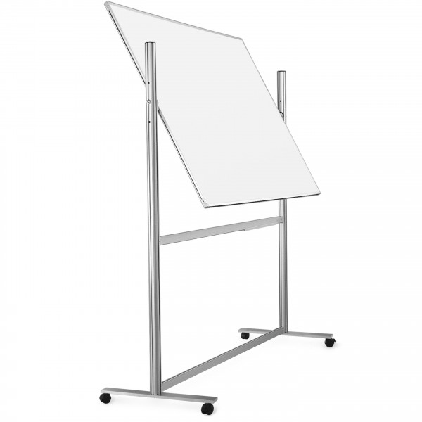 ferroscript mobile whiteboard, double-sided, rotable