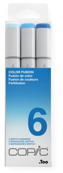 Copic Sketch Color Fusion set 6