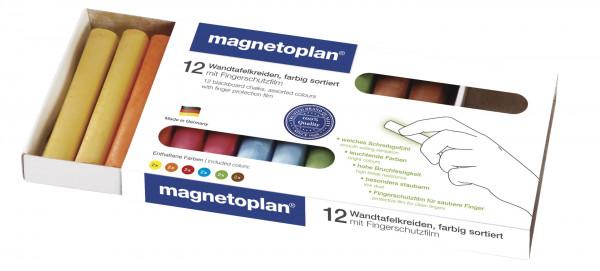 coloured chalk, rounded, 12 pcs.