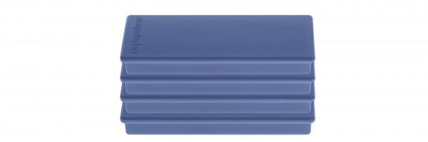 Rectangular magnet on blister card