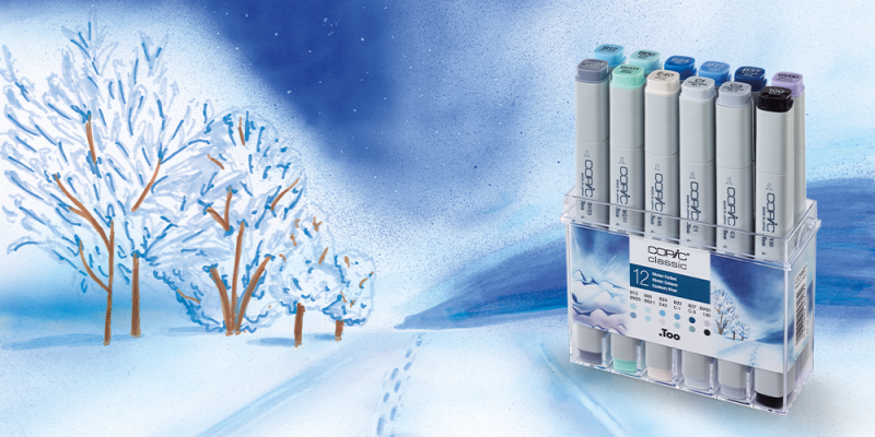 COPIC Set Winter