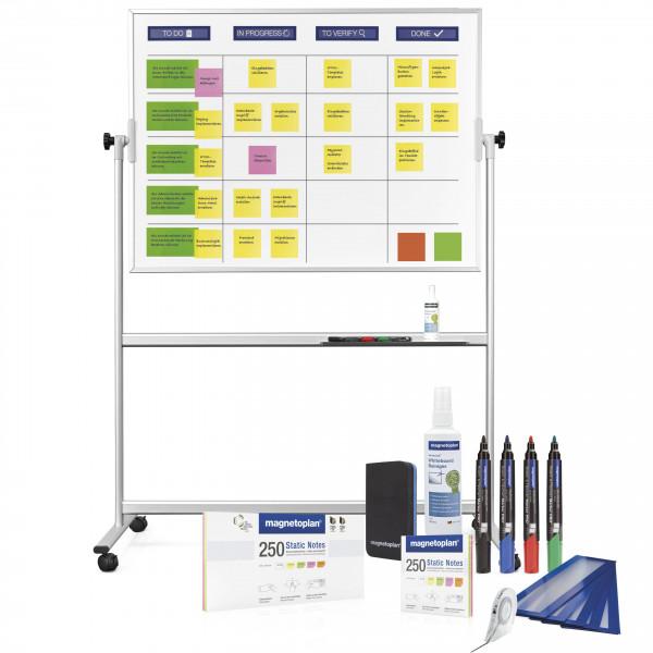 Scrumboard mobile, standard set (ink. Accessories)
