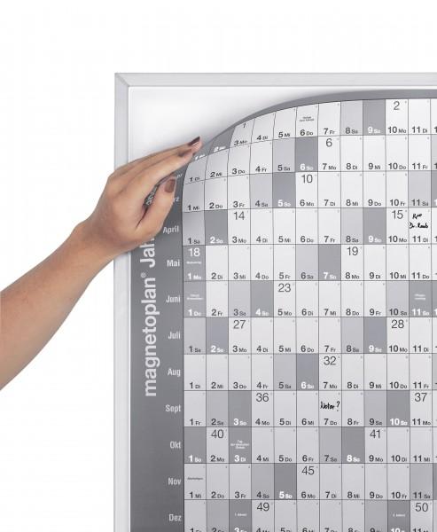 Base board for magnetoplan yeaer planner