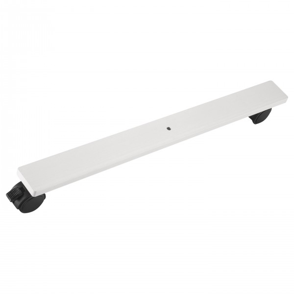 Mobile Base, made of anodized aluminium, for octagonal pole