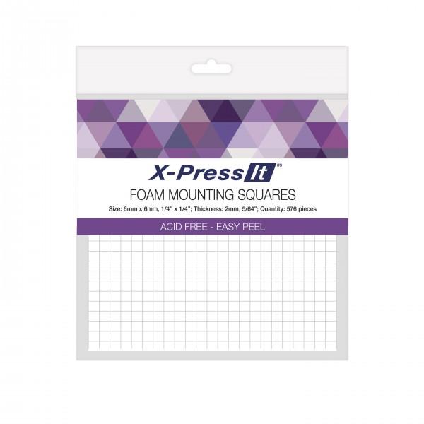 X-Press It Foam Mounting Squares 6 x 6 mm