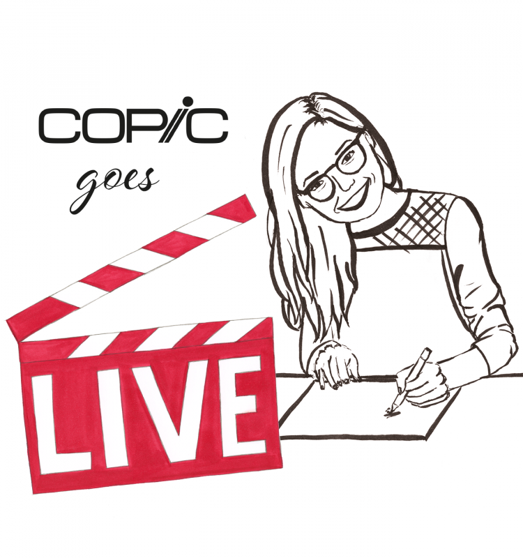 Copic goes Live
