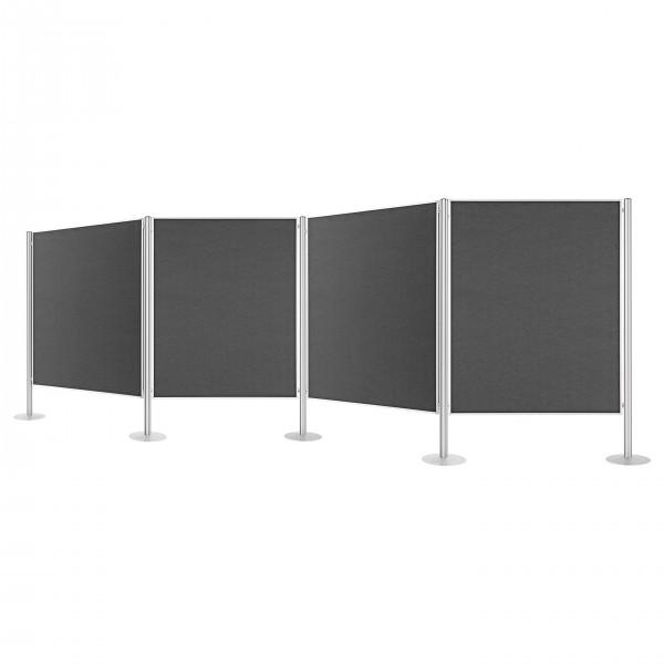 Presentation wall, stationary